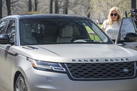 Range Rover Velar and Ellie Goulding