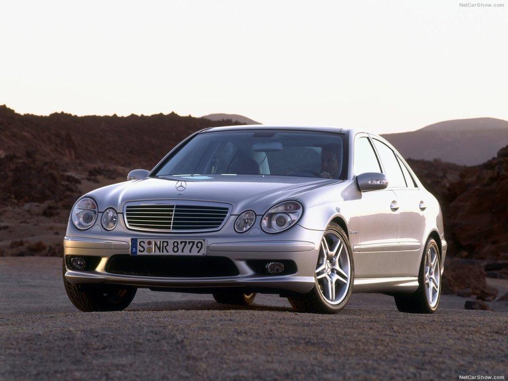 Mercedes-Benz E55 AMG 2003
