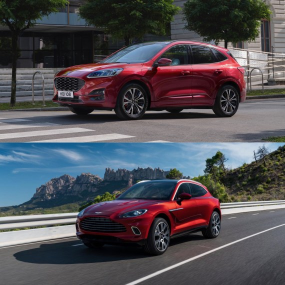 Aston Martin DBX vs New Ford Kuga