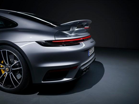 Porsche 911 Turbo S Flaps