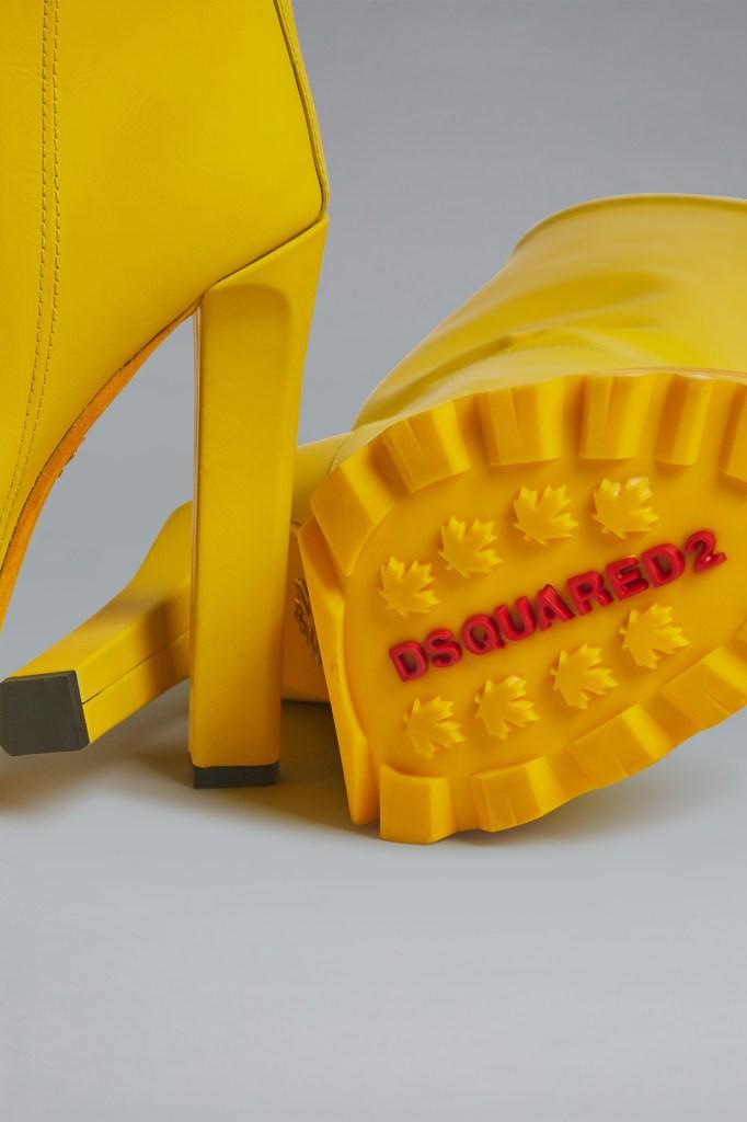 Dsquared2 High Heeled Rain Boots