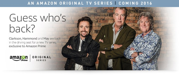 Amazon Prime Présentation The Grand Tour