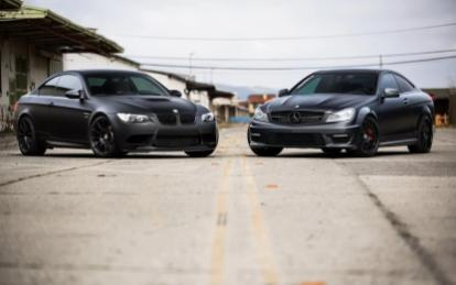 BMW M3 & Mercedes Benz C63