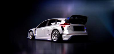 Ken Block Gymkhana 9 Introducing Ford Focus RS RX Back