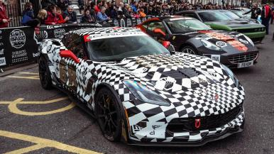 Chevrolet Corvette Stingray Gumball 3000 2016
