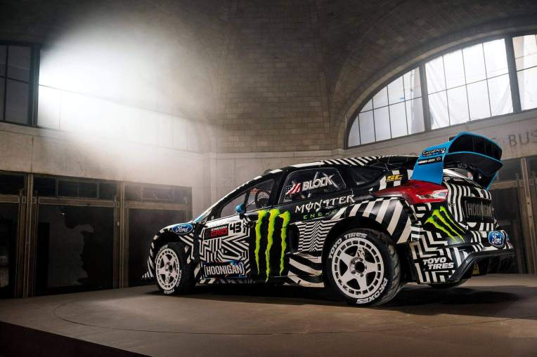 Gymkhana 9 Ken Block Raw Industrial Playground 2016