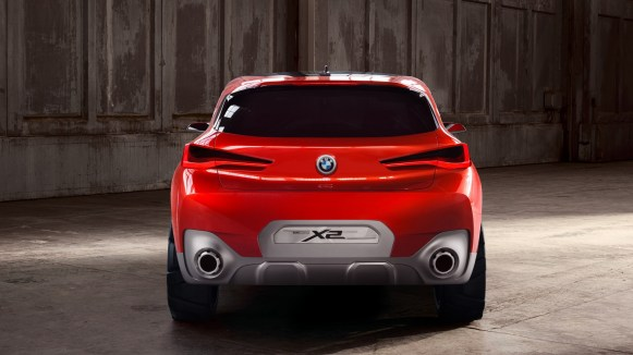BMW X2 Concept Mondial Automobile Paris 2016