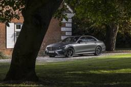 Mercedes Selenite Grey AMG e43
