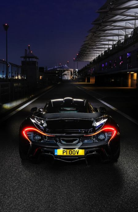 McLaren P1 Phone Wallpaper