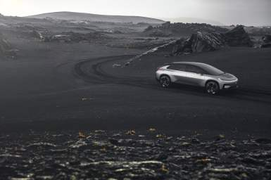 Faraday Future FF 91 Iceland