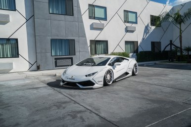 Lamborghini Huracan LB Performance & Forgiato Wheels