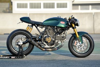 MotorCeption Ducati Sportclassic Cafe Racer