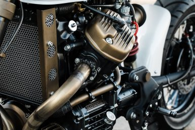 MotorCeption Honda CX500 Cafe Racer