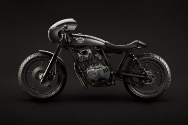 MotorCeption Suzuki GN400 Cafe Racer
