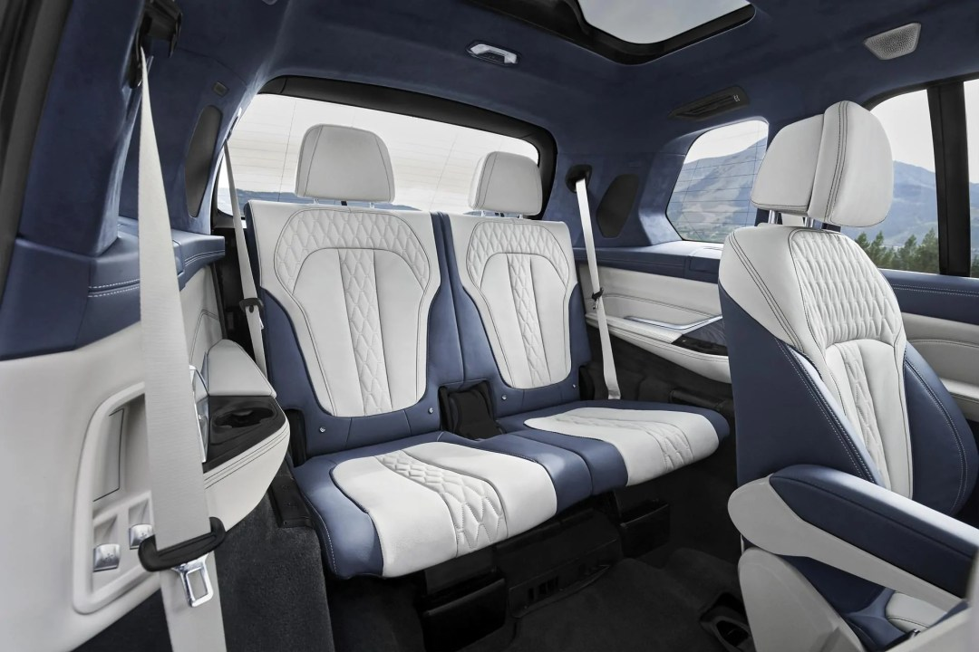 BMW X7 Third Row Seating