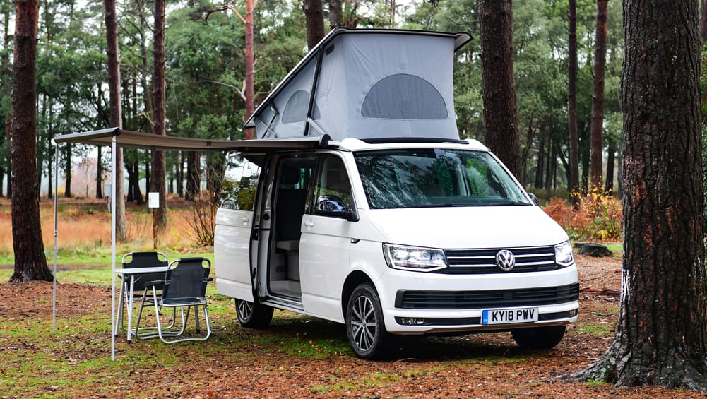 Vw California 2020 Entry Level Beach Campervan Gains Fold Out Kitchen Car News Carsguide