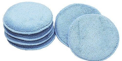 51k5PkFDqkL - Viking 862400 Blue Microfiber Wax Applicator, (Pack of 6)