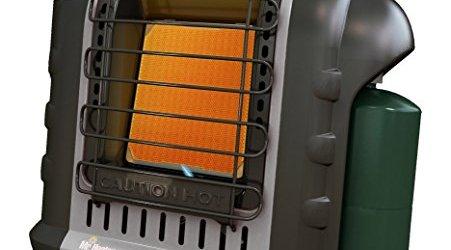 51lcNSQQzpL - Mr. Heater F232017 MH9BX Buddy Grey Indoor-Safe Portable Radiant Heater (4,000-9,000-BTU)