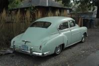 A fastback sedan