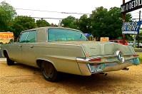 A notchback sedan