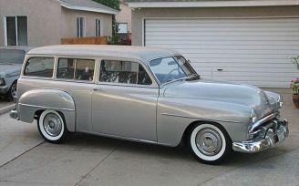 1951 plym suburban