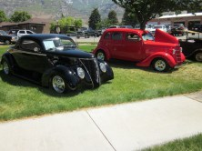 1937 Ford coupe & 1935 Ford sedan