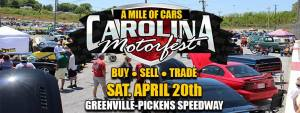 Carolina Motorfest @ Greenville-Pickens Speedway | Easley | South Carolina | United States
