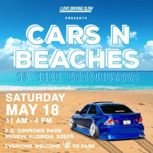 Cars N Beaches @ E.G. Simmons Park | Ruskin | Florida | United States