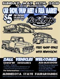 First Fifty's 49th Annual Car Show @ Minnesota State Fair   Saint Paul   Minnesota   United States