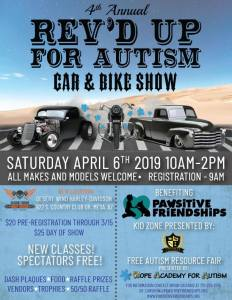 4th Annual REV'D UP for Autism Car & Bike Show @ Desert Wind Harley-Davidson | Mesa | Arizona | United States