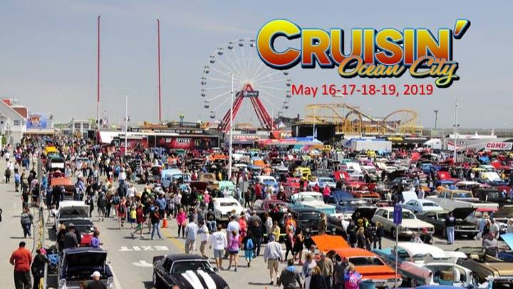 Cruisin Ocean City >> 29th Annual Cruisin Ocean City Car Shows Now