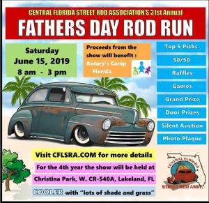 Father's Day Rod Run @ Christina Park | Lakeland | Florida | United States