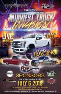 Midwest Truck Invasion @ Great Lakes Dragway | Union Grove | Wisconsin | United States