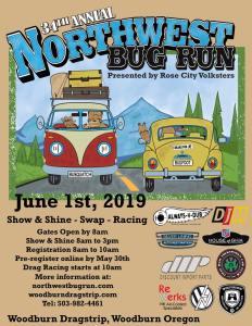 34th Annual Northwest Bug Run @ Woodburn Dragstrip | Woodburn | Oregon | United States