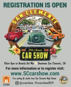 24th Annual San Clemente Car Show @ Downtown San Clemente | San Clemente | California | United States