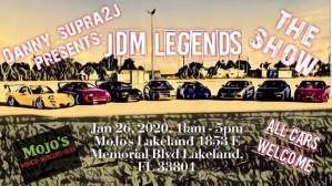 JDM Legends: The Show! @ Mojo's Wings Burger Beer | Lakeland | Florida | United States