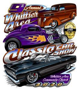9th Annual Whittier Area Classic Car Show @ Whittier, California | Whittier | California | United States