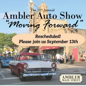 24th Annual Ambler Auto Show @ Ambler Main Street | Ambler | Pennsylvania | United States