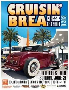 Cruisin Brea Father's Day Car Show @ Brea Downtown | Brea | California | United States