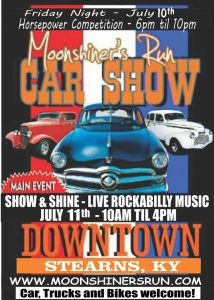 Moonshiner's Run Car Show @ Stearns Kentucky | Stearns | Kentucky | United States