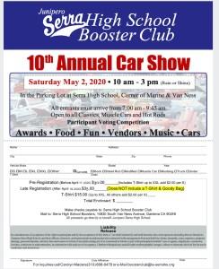 Serra High School 10th Annual Car Show @ Serra High School | Gardena | California | United States