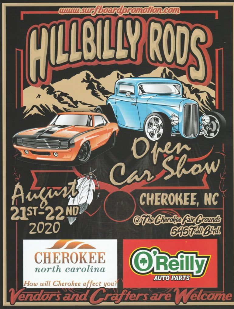Hillbilly Rods Car Show @ Cherokee Indian Fairgrounds | Cherokee | North Carolina | United States