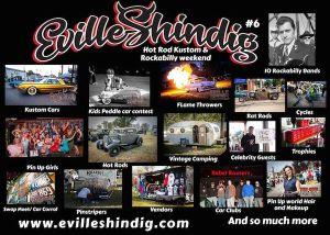 Evill Shindig Hot Rod Kustoms and Rockabilly weekend @ Vanderburgh 4H Center | Evansville | Indiana | United States