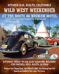 Wild West Weekender @ Route 66 Wigwam Motel   San Bernardino   California   United States