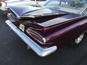 1960 Chevy Bel Air rear fins