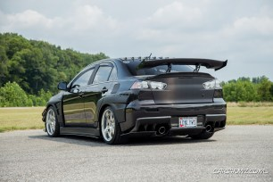 Customized 2012 Mitsubishi Lancer Evolution X