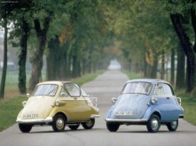 "BMW Isetta ""Bubble Car"", ""Rolling Egg"", ""Coffin Car"", ""The Yoghurt Pot"""