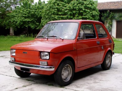 "Fiat 126 ""Polski Fiat"", ""Bambino"", ""Maluch"""