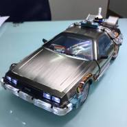Back to The Future II 1/20 Scale Magnetic Floating DeLorean Time Machine