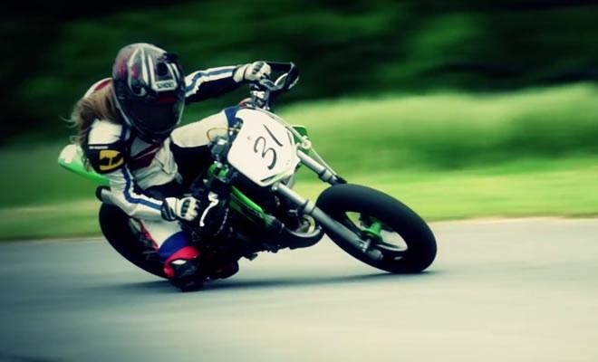 Kayla Yaakov a 9 Year Old Motorcycle Champion